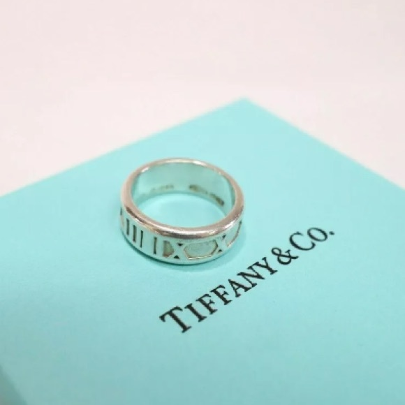 Tiffany & Co. Jewelry - Authentic Tiffany & Co. Size 5 Ring 925 w/box